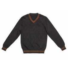 Джемпер темно-серый