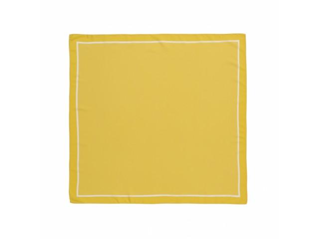Платок желтый