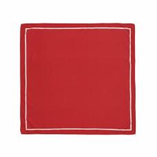 Платок темно-красный