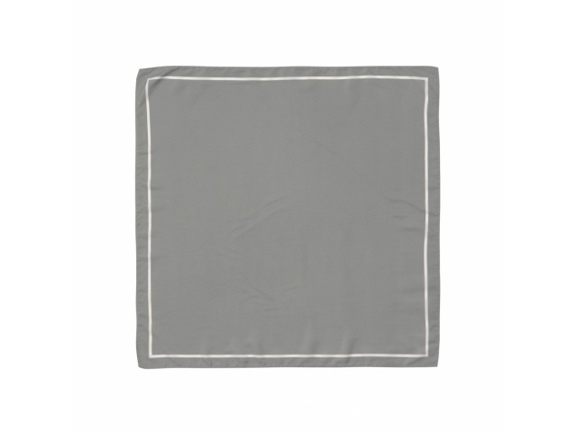Платок серый