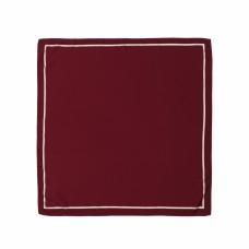 Платок бордовый