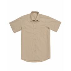 Сорочка мужская бежевая КР
