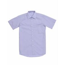 Сорочка мужская голубая КР