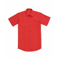 Сорочка мужская красная КР