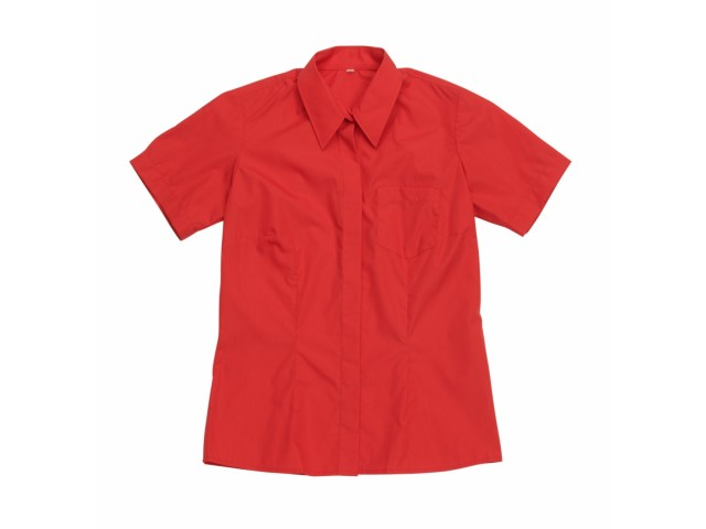 Блуза женская красная КР