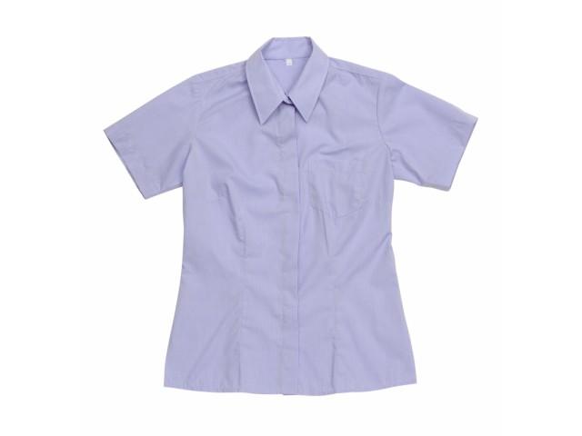 Блуза женская голубая КР